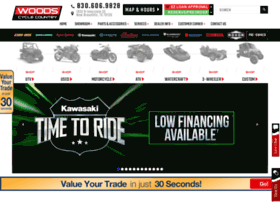 woodscyclecountry.com