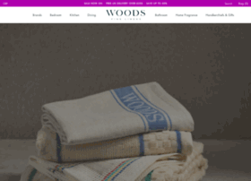woodsfinelinens.com
