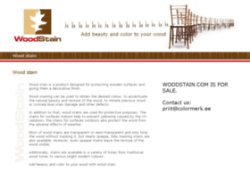 woodstain.com