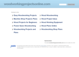 woodworkingprojectsonline.com