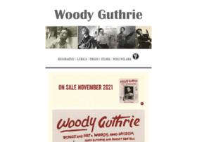 woodyguthrie.org