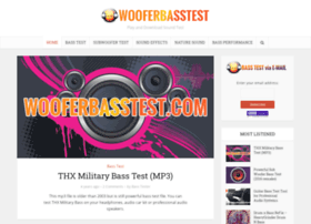wooferbasstest.com