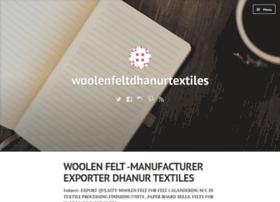 woolenfeltdhanurtextiles.wordpress.com
