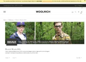 woolrichwoolenmills.com