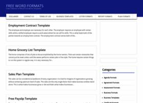 word-formats.com