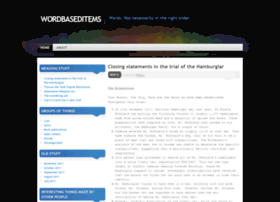 wordbaseditems.wordpress.com