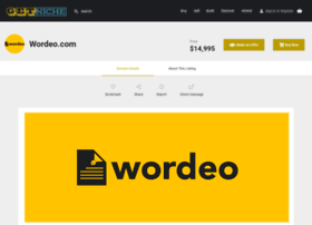 wordeo.com