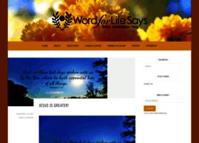 wordforlifesays.com