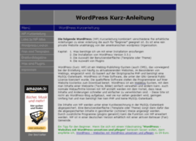 wordpress-kurzanleitung.de
