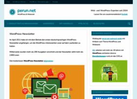 wordpress-newsletter.perun.net