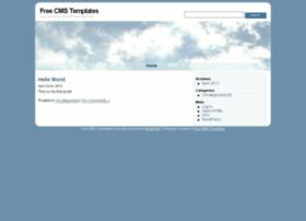 Wordpress.freecmstemplates.com