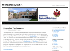 wordpress.jsrhs.net