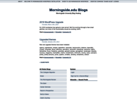 wordpress.morningside.edu