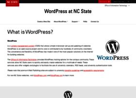 wordpress.ncsu.edu