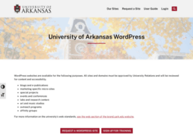 wordpress.uark.edu