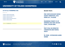 wordpress.utoledo.edu