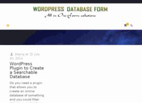 wordpressdatabaseform.com