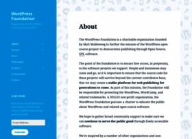 wordpressfoundation.org
