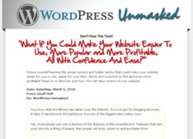 wordpressunmasked.com