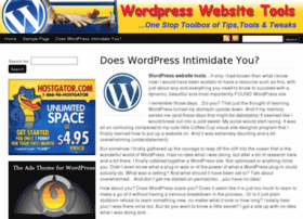 wordpresswebsitetools.com