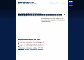 words-that-begin-with-u.worddetector.com