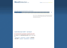 words-that-start-with-f.worddetector.com