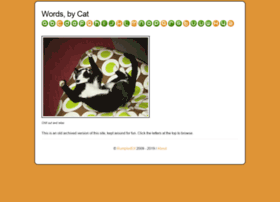 wordsbycat.com