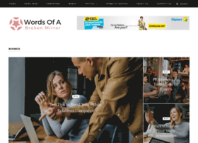 wordsofabrokenmirror.com