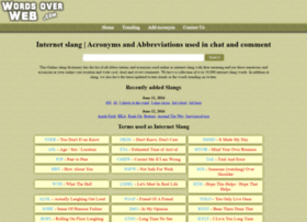 wordsoverweb.com