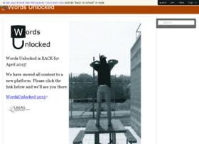 wordsunlocked.wikispaces.com