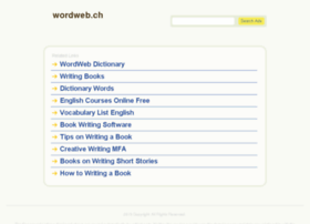 wordweb.ch