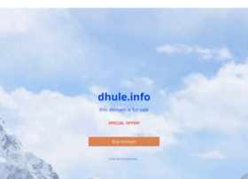 work.dhule.info