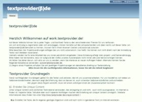 work.textprovider.de