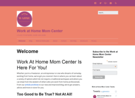 workathomemomcenter.com