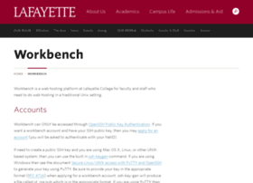 workbench.lafayette.edu