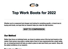 workbootreviews.com