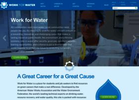 workforwater.org