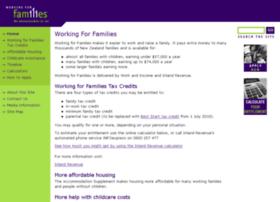 workingforfamilies.govt.nz