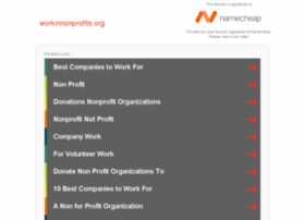 workinnonprofits.org
