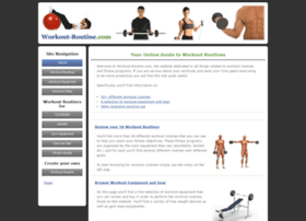 workout-routine.com