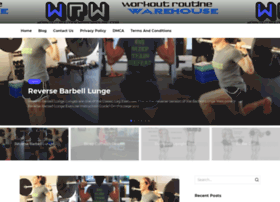workoutroutinewarehouse.com