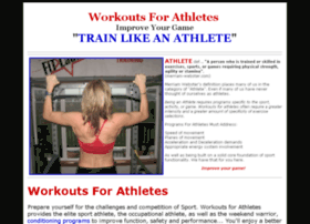 workoutsforathletes.com