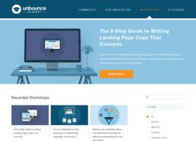 workshops.unbounce.com
