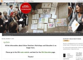 workshops.urbansketchers.org