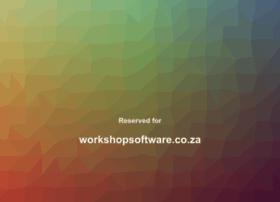 workshopsoftware.co.za