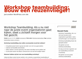 workshopteambuilding.wordpress.com