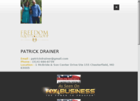 workwithpatrickdrainer.com