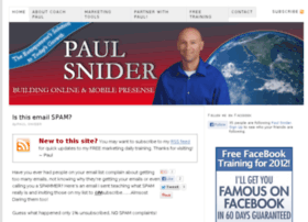 workwithpaulsnider.com