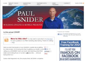 workwithpaulsnider.com