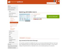 world-cup-2010-msn.programasgratis.es